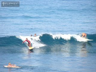 Kailua Kona condo photo - Guest took this Photo of Surfers from our Lanai