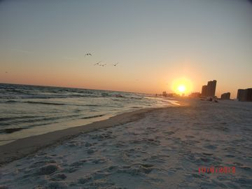 Sunset on Orange Beach