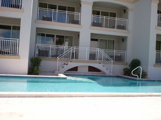 Providenciales - Provo studio photo - pool and unit view from terrace
