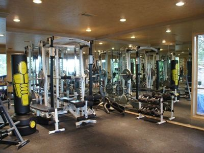 Fully Equipped Exercise Room--Exercise while you enjoy great views!