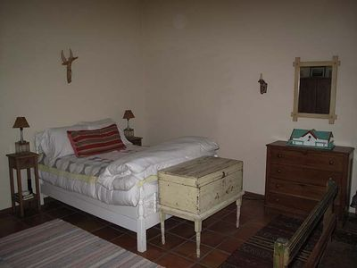 smaller guest bedroom