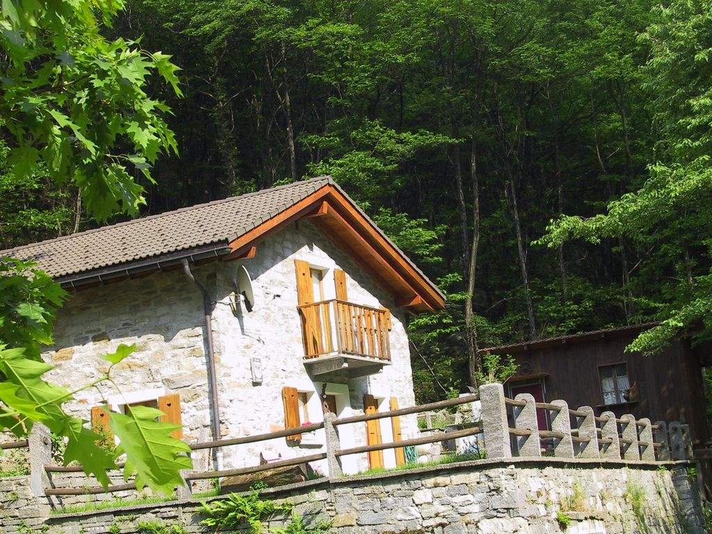 Holiday house 86978, Brione, Ticino