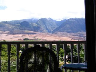 Lahaina condo photo - laanai view of the West Maui mountains