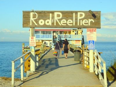 "Historic ""Rod & Reel"" pier"