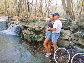 Branson cabin photo - With such fantastic scenery, biking is a popular activity. Photo courtesy BCC.