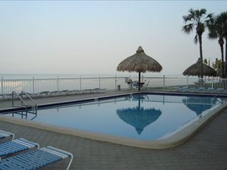 Redington Shores condo photo - Pool by the Beach, Picnic and Grilling Area