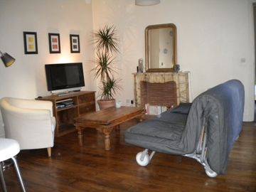 11th Arrondissement Bastille apartment rental - Living room area