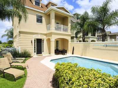 This luxury 4 bed Reunion pool home boasts south facing location for all day sun