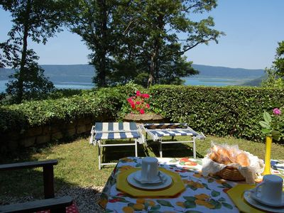 Holiday House Olivo upon Vico Lake near Rome