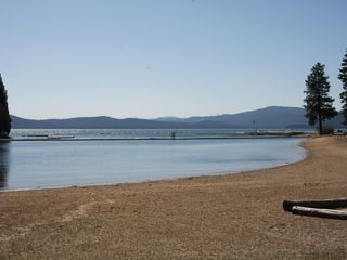 Lake Almanor house photo - Sandy beaches at the recreation area-also has bar-b-ques and picnic tables.