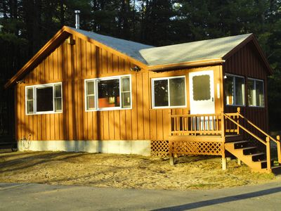 Ossipee Lake cabin rental - Sun Setting on your vacation home
