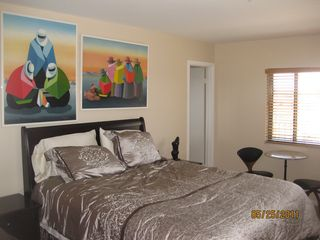 Deerfield Beach condo photo - View of Second bedroom, with full bathroom door beyond