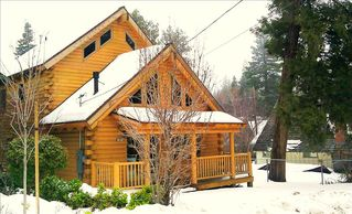 Lake Arrowhead cabin photo - Cabin in the winter
