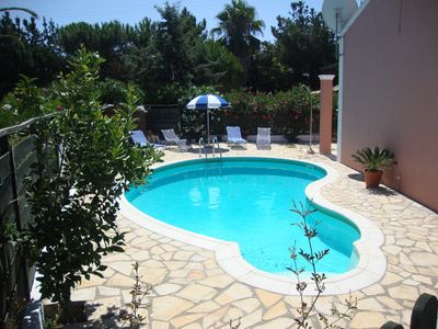 Family friendly villa with private pool in a quiet spot but central to amenities