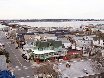 View of Bay & downtown Ocean City