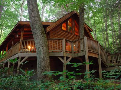 Banner Elk cabin rental - The Treehouse Cabin