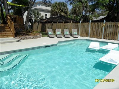 21 Dove St. Renovated Home in 2012 w/ swimming pool and fenced-in backyard.