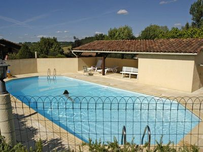 Cheap accommodation, 33 square meters, with pool