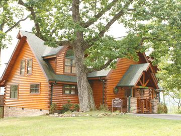 Pigeon Forge cabin rental - Don't be fooled, this is 4100 Sq. Ft. of open friendly warmth waiting for you.