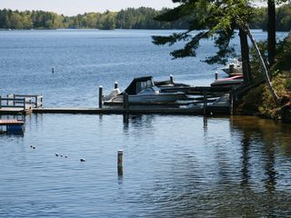 Sebago Lake Basin cottage photo - Swimming area (photo taken from Whites Bridge)