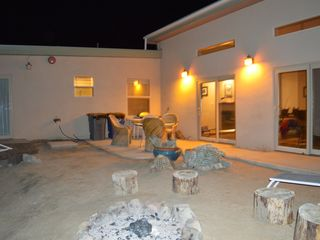 Borrego Springs house photo - Rear patio