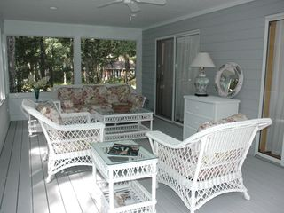 East Quogue house photo - Screened in Porch