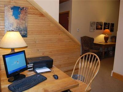 Aspen house rental - Business Center