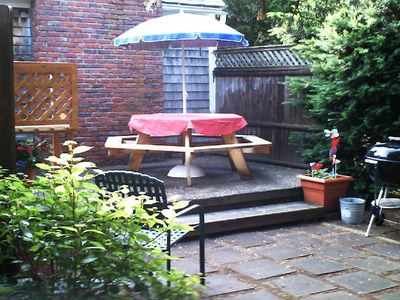 Eastham house rental - Private Patio