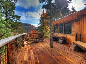 Beautiful alpine views from the North deck.