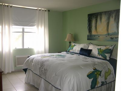 Fajardo condo rental - Master Bedroom - Deep kingsize mattress