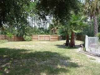 Port St. Joe house photo - Large fenced in backyard which is great for your fury pets.