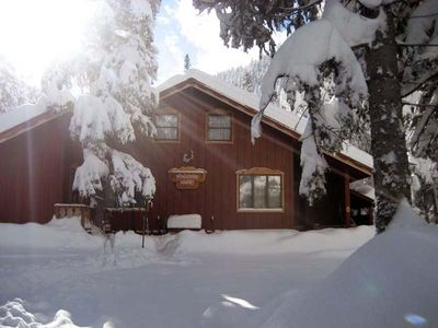 Chalet in Winter,  NICE SNOW!