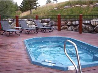 Baldy Mountain Breckenridge condo photo - Shared Outdoor Hot Tub