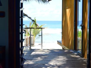 Cook Islands villa photo - From your master bedroom to the beach