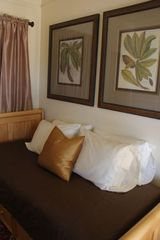 Tucson bungalow photo - Trundle Bed with Silk Duvet Sleeps up to two singles in cozy 1/2 bedroom