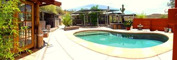 Black Canyon City house rental - Pool Side at the beautiful BLACK CANYON RETREAT
