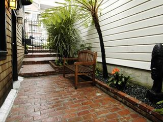 San Francisco house photo - Side garden on quiet tree lined cul de sac of multi-million dollar homes
