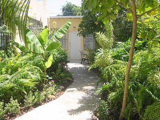 San Juan apartment photo - The Tropical Garden Path to the Apartments
