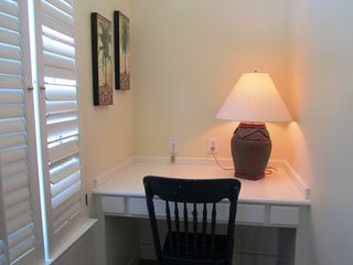 Gulf Shores house photo - Office nook in case you need a quiet spot to squeeze in a few emails