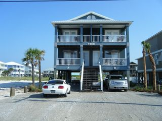 Gulf Shores house photo - Front of Duplex