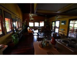 Culebra villa photo - Extensive Villa's Upper Level fully equipped Kitchen/Dining/Living Rooms..