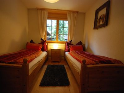 Lauterbrunnen apartment rental - Single bedroom