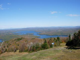 Sunapee house photo - Lake Sunapee from Mt Sunapee chair lift