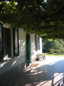 Alessandria farmhouse rental - Patio