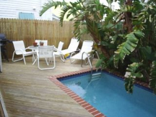Key West house photo - Partial pool and deck view