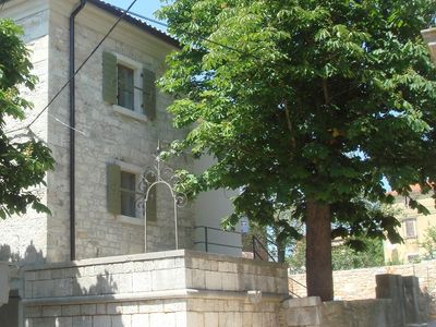 Beautiful Istrian stone house of 1891 with garden and pool