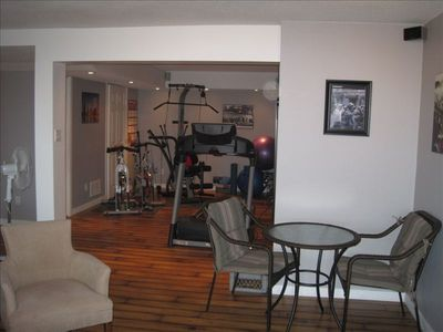 Home fitness gym