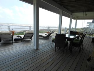 Galveston house photo - Deck view #2