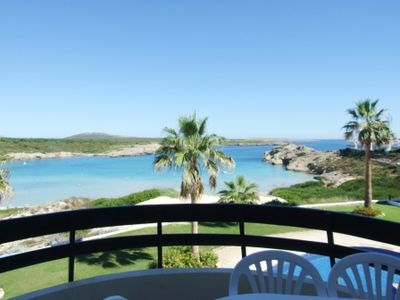 The perfect location. Comfortable apartment overlooking the Beach