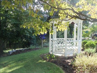 Gazebo - perfect for enjoying morning coffee, afternoon tea, or a glass of wine.